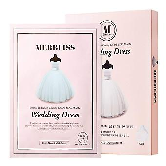 Merbliss Pearl Powder Wedding Dress Mask (5pcs)