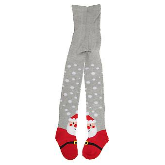 Childrens Girls Cotton Rich Festive Tights (1 Pair)