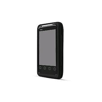 Technocel Carbon Fiber Shield and Holster Combo for HTC EVO Shift 4G - Black