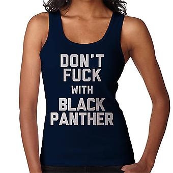 No jodas con chaleco de la mujer pantera negra