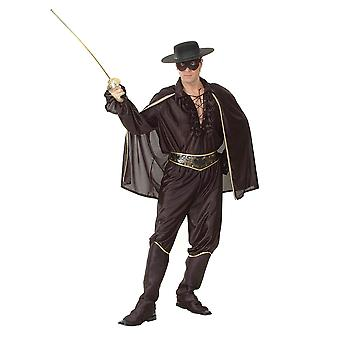 Bandido de hombre con sombrero (Zorro).