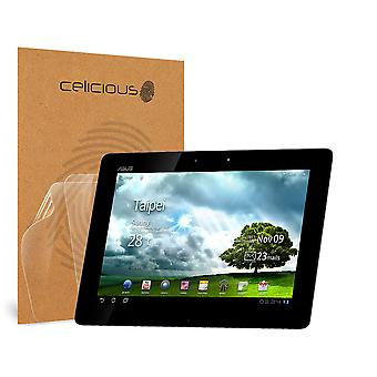 Celicious Vivid Invisible Glossy HD Screen Protector Film Compatible with Asus Eee Pad Transformer Prime TF201 [Pack of 2]
