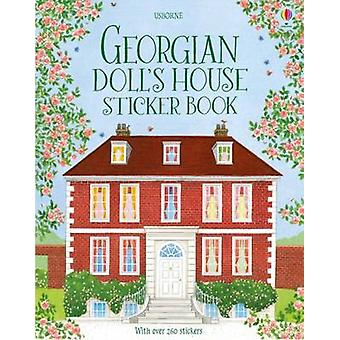 Georgian Doll's House Sticker Book by Abigail Wheatley - Maja Kasteli