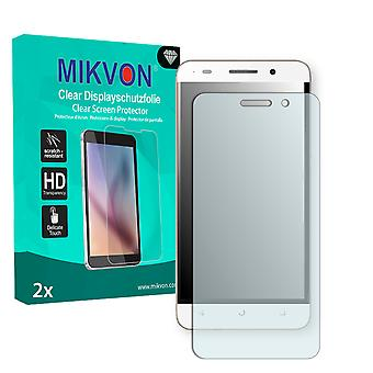 Huawei Honor 4c Play Screen Protector - Mikvon Clear (Retail Package with accessories)