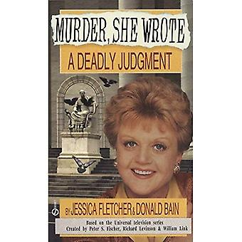 A Deadly Judgment (A  Murder, She Wrote  Mystery)