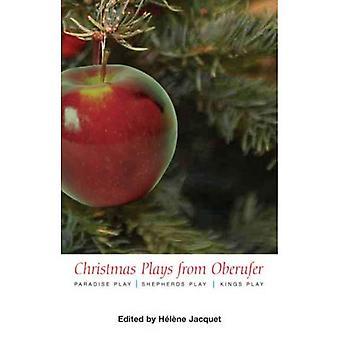 Jul spelar genom Oberufer: med Paradise spela och herdarna spela och Kings spela