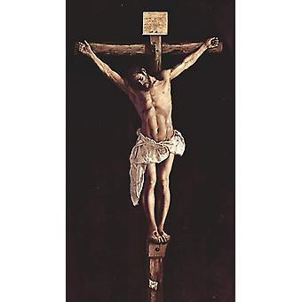 Christ on the Cross,Francisco de Zurbaran,80x45cm