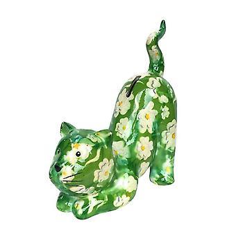 Dinero caja gato amapola