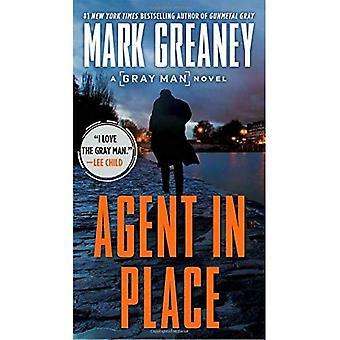 Agente no lugar (homem cinza)