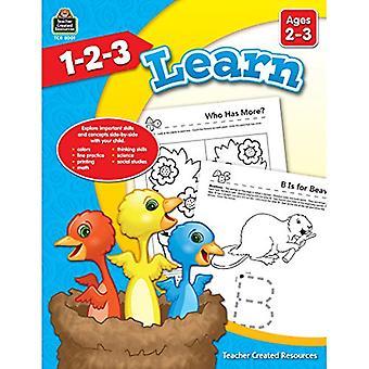 1-2-3 Learn . -3