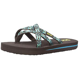 Kids Teva Girls Olowahu Slip On Flip Flops