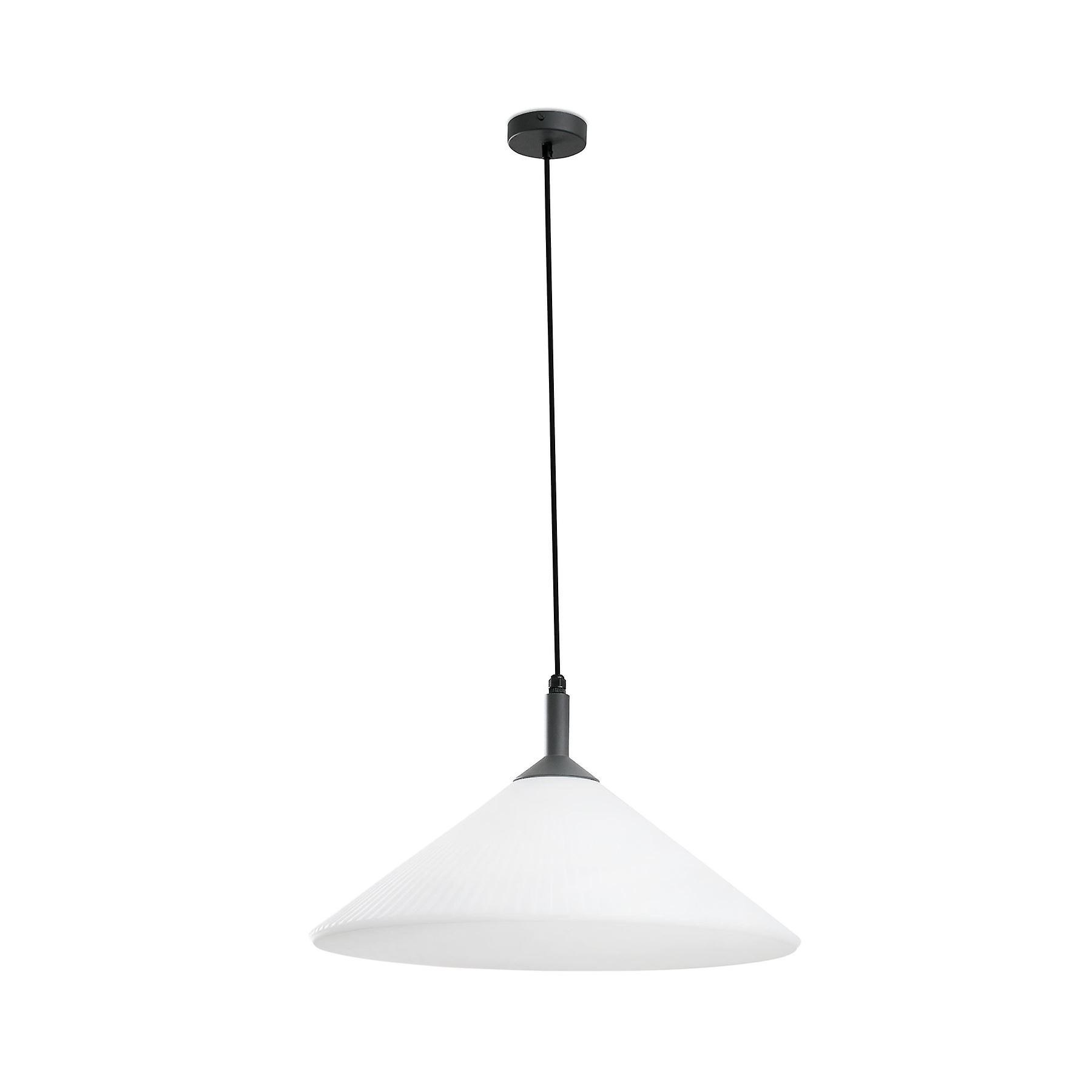 Faro - Hue gris And blanc de plein air pendentif FARO71568