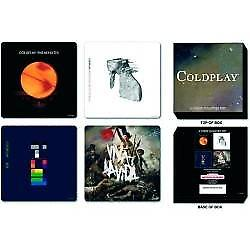 Coldplay box set of 4 drinks coasters    (ro)