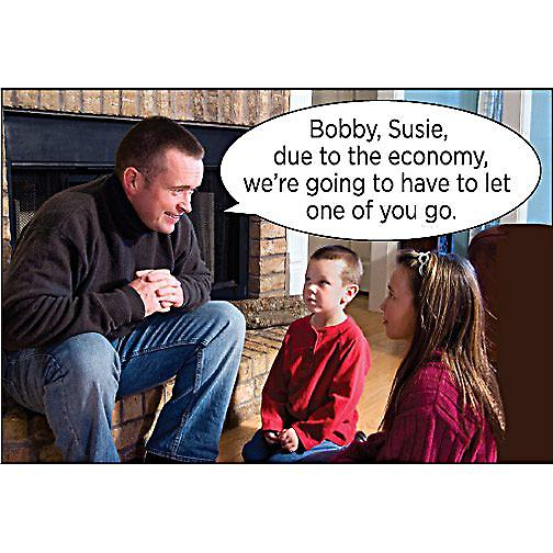 Bobby, Susie, Due To The Economy... funny fridge magnet (ep)