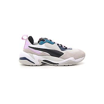Puma White/blue Synthetic Fibers Sneakers
