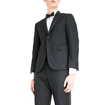 Thom Browne Black Wool Suit