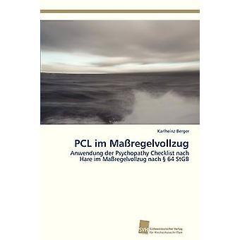 PCL Im Massregelvollzug av Berger Karlheinz