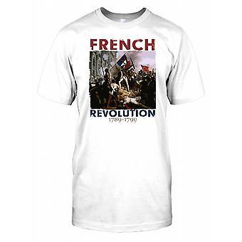 Den franska revolutionen 1789-1799 - kung Louis XVI Kids T-shirt