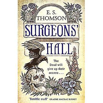 Kirurgernas Hall: En mörk, sida-svarvning thriller (Jem Flockhart)