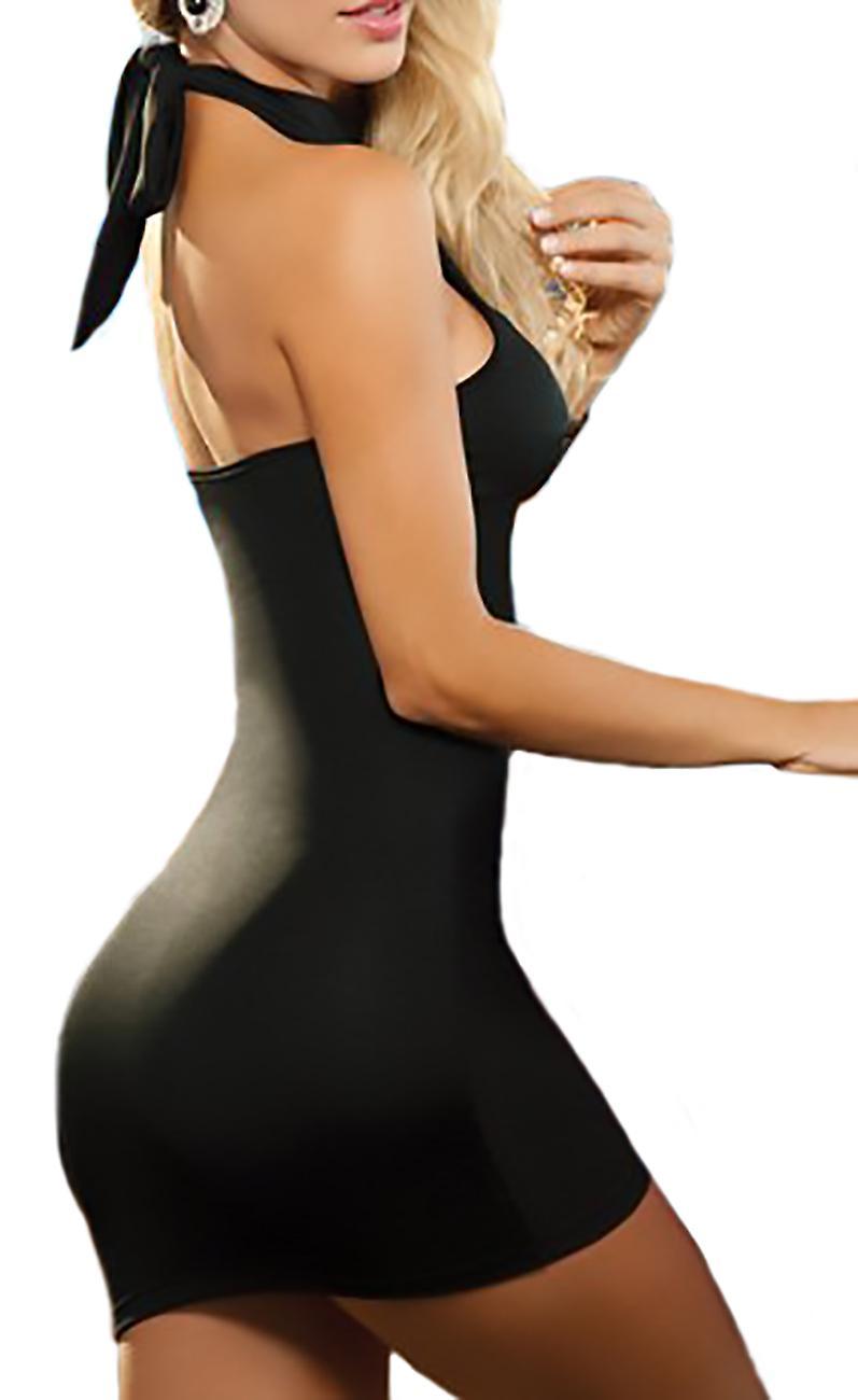 Short slinky dress sexy clubwear style Zufa