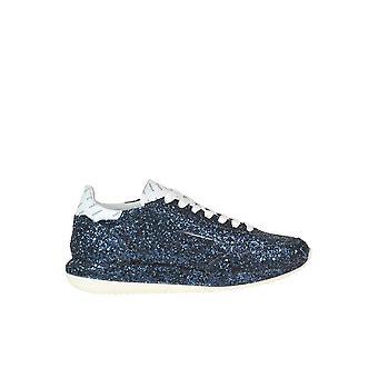 Ghoud Blue Glitter Sneakers