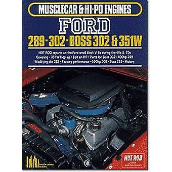 Ford 289 - 302 - Boss 302-351W by R. M. Clarke - 9781855201040 Book