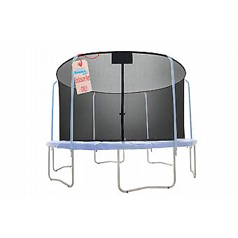 10' Replacement Trampoline Safety Net Fits For 10' Round Frames Using The 6 Curved Pole With Top Ring Enclosure Systems (Net Only)