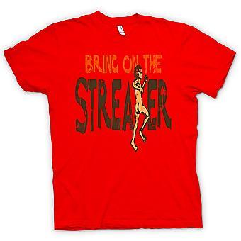 Kids T-shirt - Bring On The Streaker - Funny