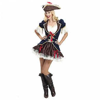 Ladies' Costume Captain Buccaneer Adult Costume