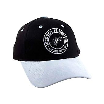 Game of Thrones Baseball Cap House Stark Winter is Here Official Black Strapback Game of Thrones Baseball Cap House Stark Winter is Here Official Black Strapback Game of Thrones Baseball Cap House Stark Winter is Here Official Black Strapback Game of