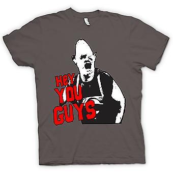 Mens T-shirt - Goonies Sloth Hey You Guys