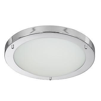 Cromo pequeño redondo montaje rasante LED - reflector 8702CC
