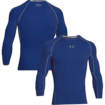 Under Armour HG of compression long sleeve shirt men's blue 1257471