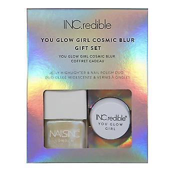 Nails inc INC.redible | You Glow Girl Cosmic Blur - Gift Set (10739)