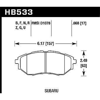 Hawk Performance HB533Z.668 PC