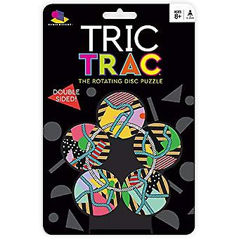 Games - Ceaco Brainwright - Tric Trac - The Rotating Disc Puzzle New 8016d