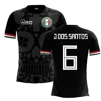 2018-2019 Mexiko tredje konceptet fotbollströja (J dos Santos 6)-barn