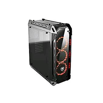 Cougar panzer g case gaming middle tower atx with window tempered glass black color