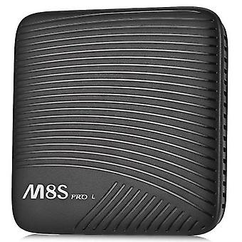 Mecool m8s pro l tv box - 3+32gb, octa core, amlogic s912, android 7.1, ordinary remote control - black, au plug