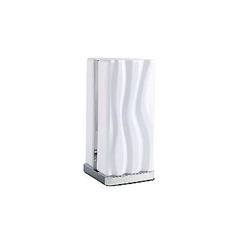 Lampe de table Mantra Arena 8W LED White IP20 3000K, 1080lm, Chrome poli/Acrylique blanc, Garantie 3 ans