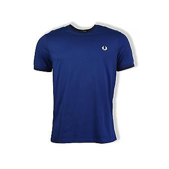 Fred Perry Twin Tipped T-Shirt (Medieval Blue)