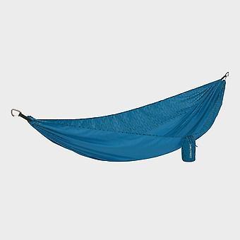 Neue Thermarest Slack Einzelne Hängematte Camping Möbel blau