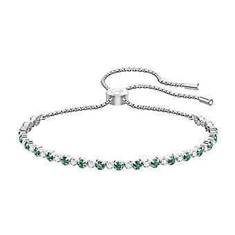Swarovski Women Plated_Gold Tennis Bracelet 5465355