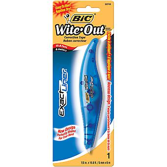 Bic Wite Out Exact Liner Correction Tape 1 5