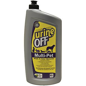 Urine Off Multi-Pet 32oz Oval Bottle W/Carpet Injector Cap- MR1051