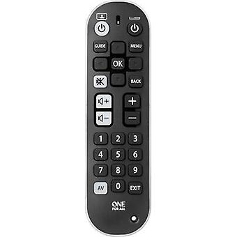 One For All Zapper+ URC6820 Infrared (1076749) Remote control Black, White