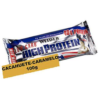 Weider Low Carb% Protein 40 50 grams bar (Sport , Barrette)