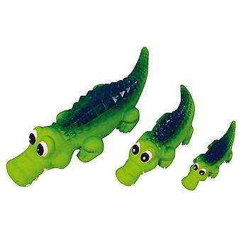 Squeaky Latex Crocodile Small 16cm
