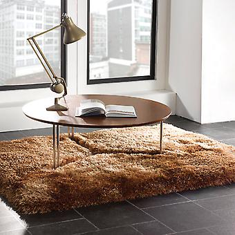 Pearl Shaggy Rugs In Caramel