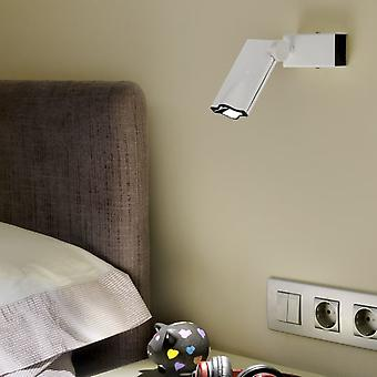 Milan Led ceiling lamp White Lacquered 1x6.6W (Home , Lighting , Hanging lamps)